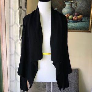 Vince cashmere cardigan, black, small